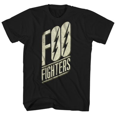 Foo Fighters T-Shirt | Lightning Logo Foo Fighters Shirt