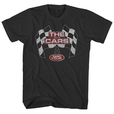 The Cars T-Shirt   1980 Tour The Cars Shirt (Reissue)