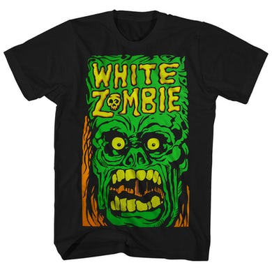 White Zombie T-Shirt | Green Monster Yell Shirt