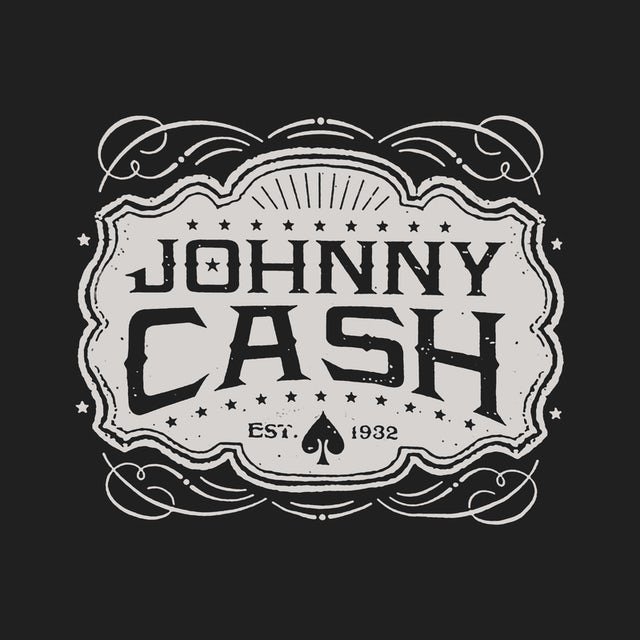Johnny Cash Hoodie | Est. 1932 Emblem Johnny Cash Hoodie