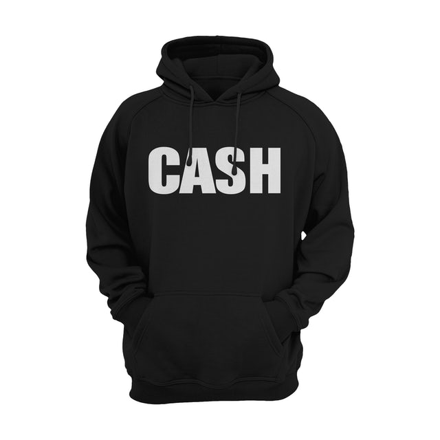 Johnny Cash Hoodie | Classic Logo Johnny Cash Hoodie