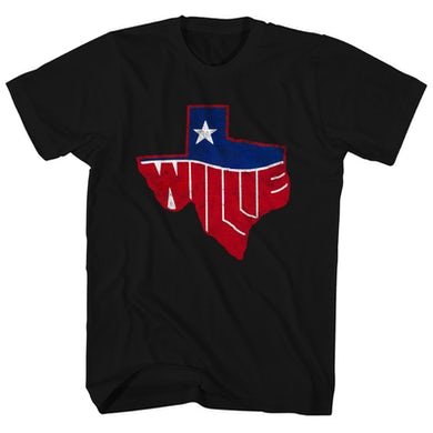 Willie Nelson T-Shirt | Texas State Willie Nelson Shirt