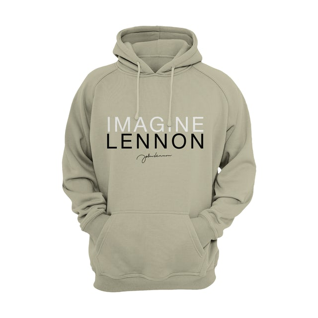 John Lennon Hoodie | Imagine Signature John Lennon Hoodie
