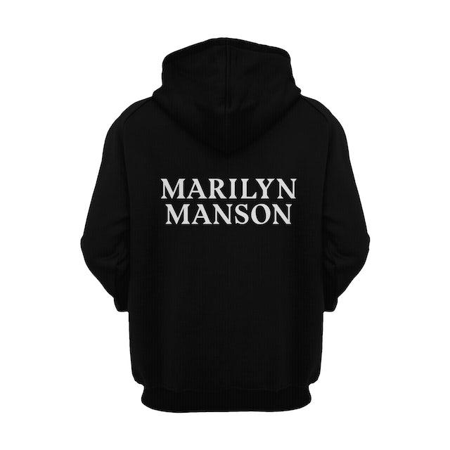Marilyn Manson Hoodie | Double Cross Marilyn Manson Hoodie