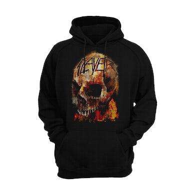 Fiery Skull Hoodie