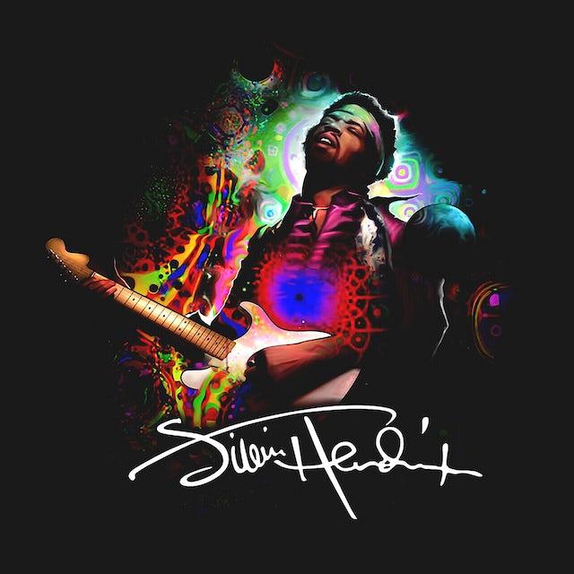 Jimi Hendrix Zip-Up Hoodie | Groovy Jimi Hendrix Hoodie