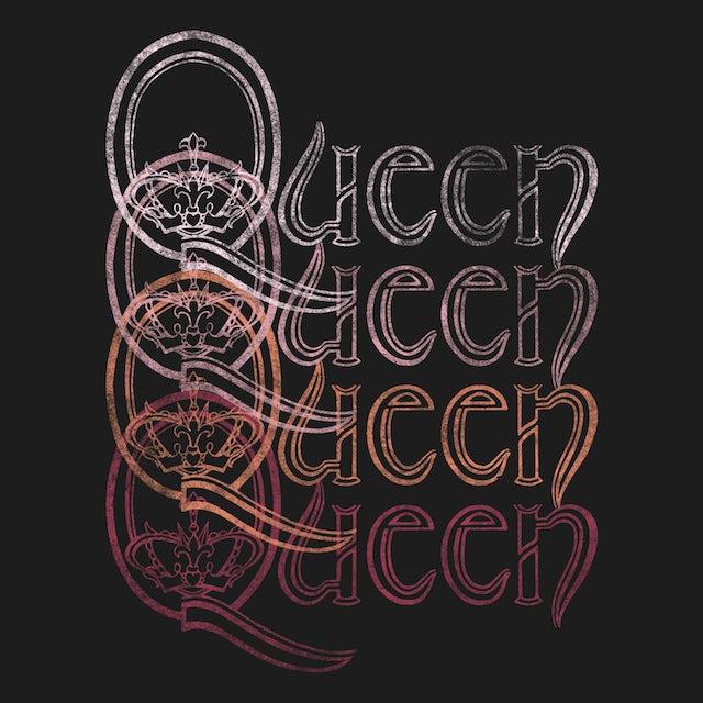 Queen T-Shirt | Repeat Logo Queen Shirt
