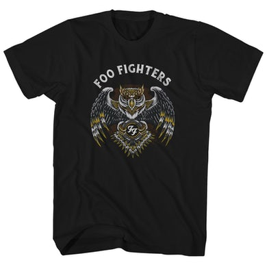 T-Shirt | Owl Logo Foo Fighters Shirt