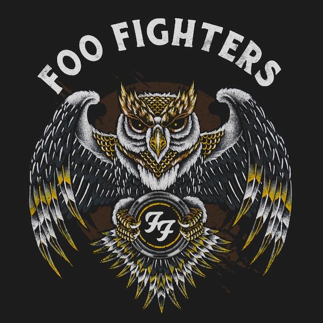 Foo Fighters T-Shirt | Owl Logo Foo Fighters Shirt
