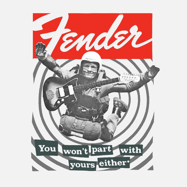 Fender T-Shirt | You Won't Part With Yours Either Fender Shirt