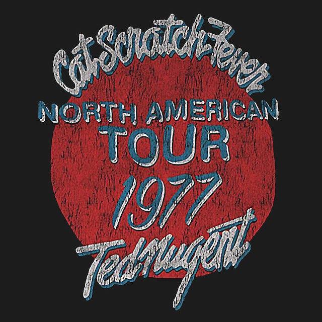 Ted Nugent T-Shirt | Cat Scratch Fever '77 Tour Shirt (Reissue)
