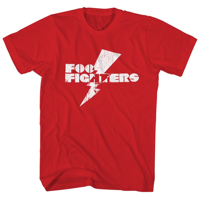 Foo Fighters T-Shirt | Lightning Strike Logo Foo Fighters Shirt