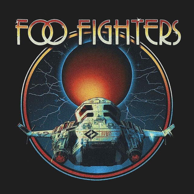 Foo Fighters T-Shirt | Red Moon Foo Fighters Shirt