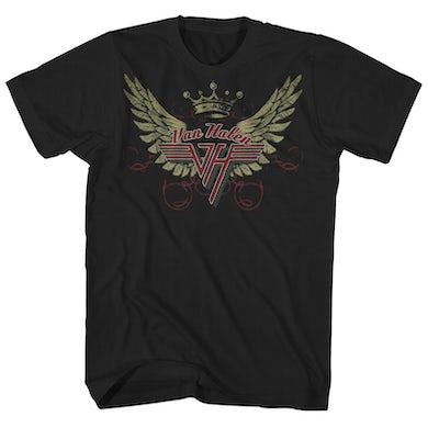 Van Halen T-Shirt | Wings Logo Van Halen Shirt