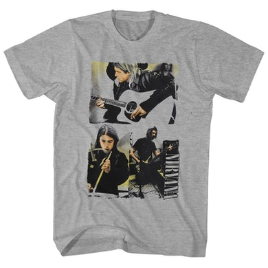Nirvana T-Shirt | Band Photo Collage Nirvana Shirt