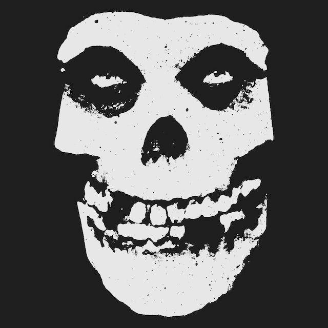 The Misfits Zip-Up Hoodie   Official Ghoul Skull Logo Misfits Hoodie