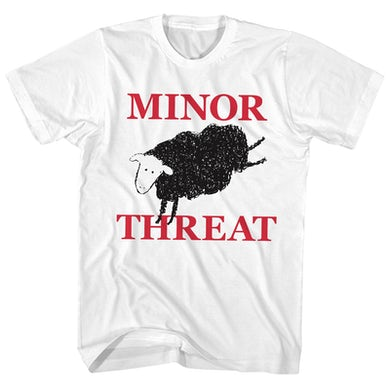 T-Shirt | Black Sheep Minor Threat Shirt