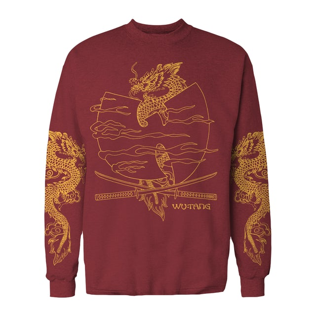 Wu-Tang Clan Long Sleeve T-Shirt | Katana & Dragons Wu-Tang Long Sleeve Shirt