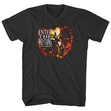 T-Shirt   Enter The Wu Album Art Wu-Tang Clan Shirt