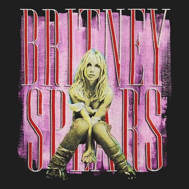 Britney Spears T-Shirt | Britney Album Art Britney Spears Shirt