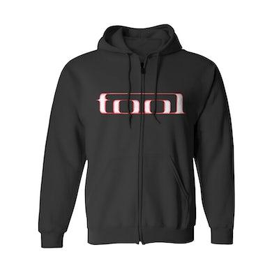 Tool Zip-Up Hoodie | Red Face & Logo Tool Hoodie