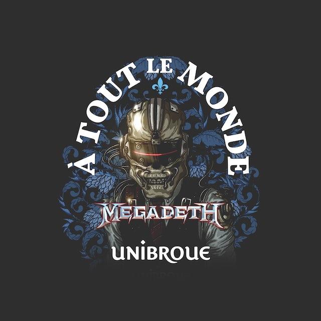 Megadeth Zip-Up Hoodie   A Tout Le Monde Megadeth Hoodie