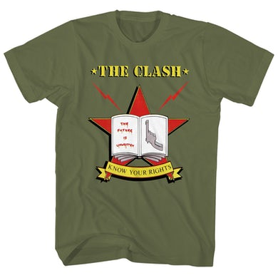 The Clash T-Shirt | Know Your Rights Tour '82 The Clash Shirt (Reissue)