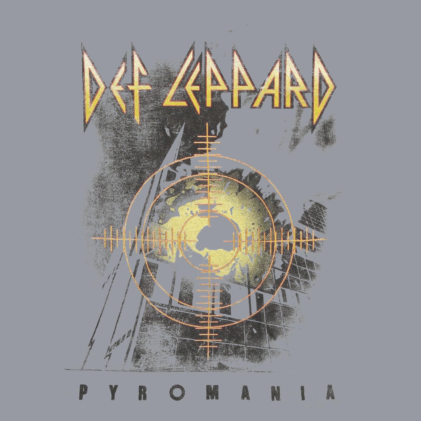 DEF LEPPARD pyromanie Noir T Shirt New Official Band Merch Album Artwork Soft