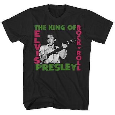 Elvis Presley T-Shirt | The King Of Rock Elvis Presley Shirt