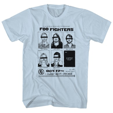 T-Shirt | Chicago Concert Foo Fighters Shirt (Reissue)