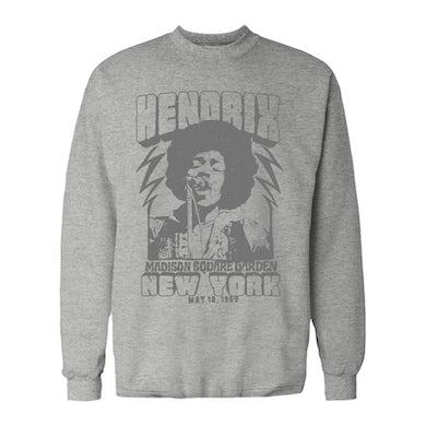 Jimi Hendrix Long Sleeve Shirt | 1969 Madison Square Garden Live Concert Jimi Hendrix Long Sleeve Shirt