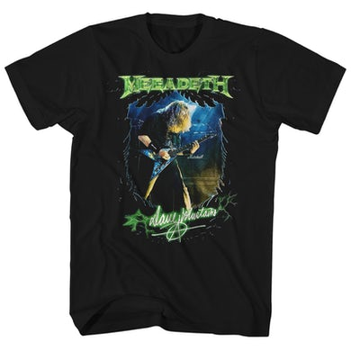 Megadeth T-Shirt | Dave Mustaine Megadeth Shirt