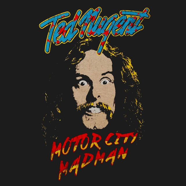 Ted Nugent T-Shirt   Motor City Madman Ted Nugent Shirt