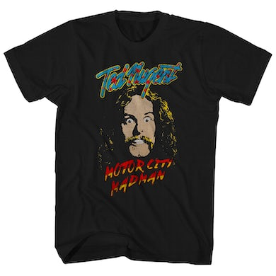 Ted Nugent T-Shirt | Motor City Madman Ted Nugent Shirt