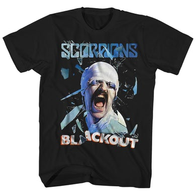 Scorpions T-Shirt | Blackout Album Art Scorpions Shirt