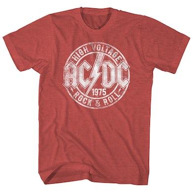 AC/DC T-Shirt | High Voltage Rock & Roll AC/DC Shirt