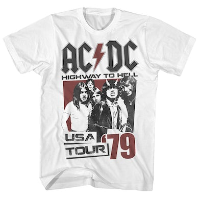 AC/DC T-Shirt | Highway To Hell '79 Tour AC/DC Shirt (Reissue)