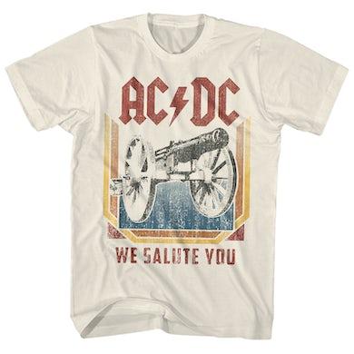 AC/DC T-Shirt | We Salute You AC/DC Shirt