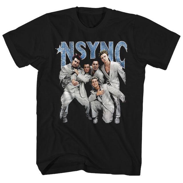 *NSYNC T-Shirt   Strike A Pose *NSYNC Shirt