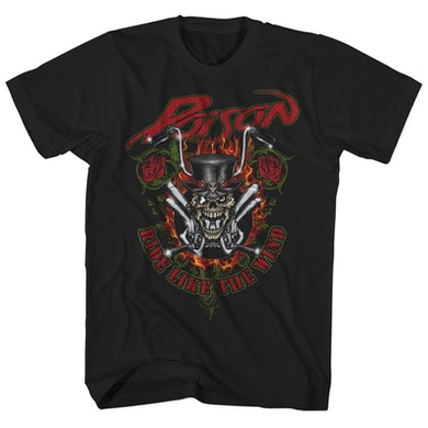 Poison T-Shirt | Ride Like the Wind Poison Shirt