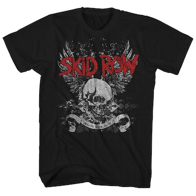 T-Shirt | Skull & Wings Skid Row Shirt