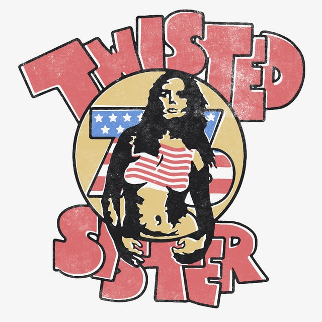 Twisted Sister T-Shirt | Twisted '76 Twisted Sister Shirt (Reissue)