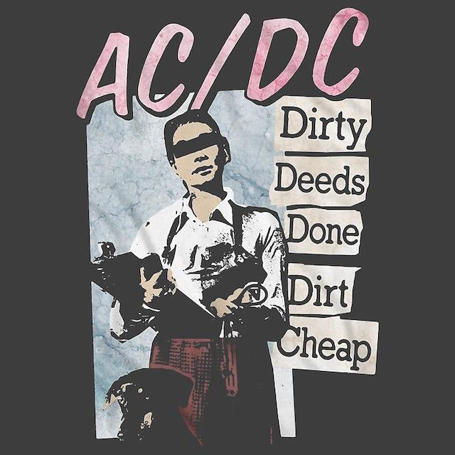 AC/DC T-Shirt | Dirty Deeds Done Dirt Cheap Album Art AC/DC Shirt