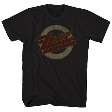 T-Shirt | Logo Fade ZZ Top Shirt