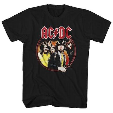 AC/DC T-Shirt | Highway To Hell Circle Logo AC/DC Shirt