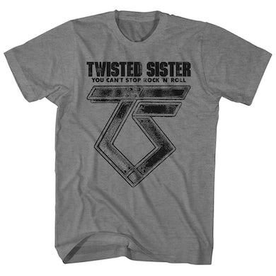 Twisted Sister T-Shirt | Can't Stop Rock 'N' Roll Twisted Sister Shirt
