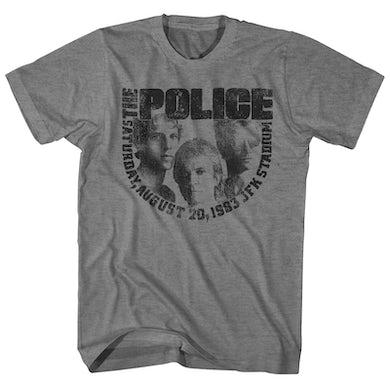 The Police T-Shirt | JFK Stadium '93 Concert The Police Shirt (Reissue)