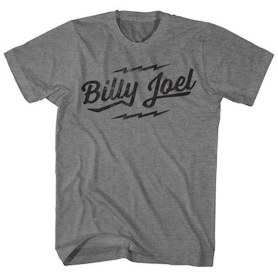 Billy Joel T-Shirt   Official Logo Billy Joel Shirt