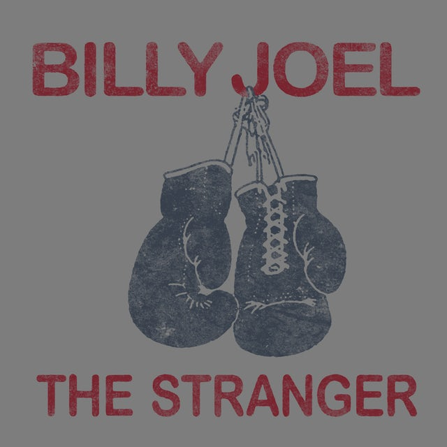 Billy Joel T-Shirt   The Stranger Boxing Gloves Billy Joel Shirt
