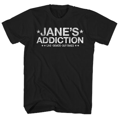 Jane's Addiction Jane's Addiction T-Shirt | Live Demos Out-Takes Jane's Addiction Shirt